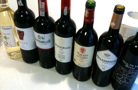 Biedronka wina hiszpańskie promocja listopad 2011