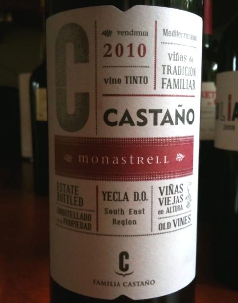 Castańo Yecla Monastrell 2010