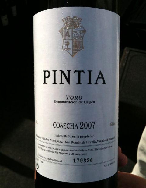 Pintia Toro 2007