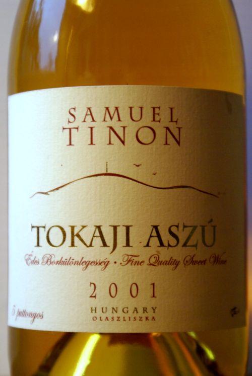 Samuel Tinon Tokaji Aszú 5P 2001