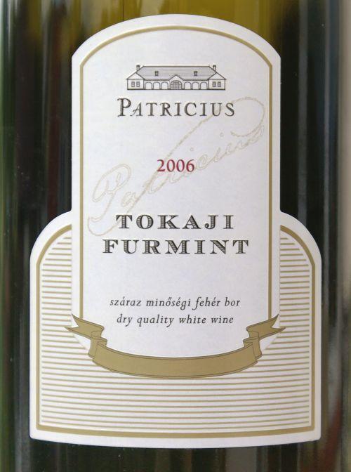 Patricius Tokaji Furmint 2006
