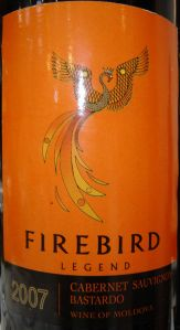 Aurvin Firebird Cabernet-Bastardo 2007