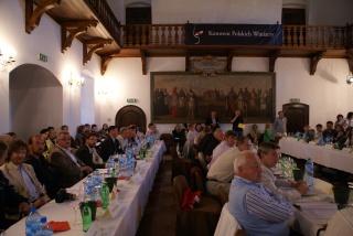 Polscy winiarze w niepołomickim zamku