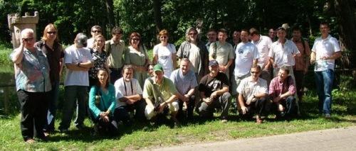 Uczestnicy II Konwentu Polskich Winiarzy w Zielonej Górze (2007). © PIWiW