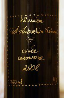 Winnica Pod Lubuskim Słońcem Czerwone 2008
