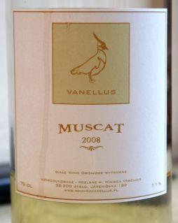 Winnica Vanellus Muscat 2008