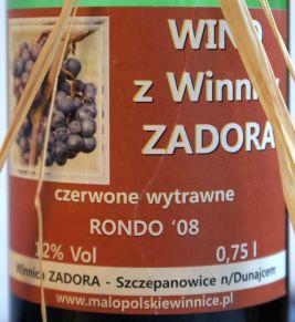 Winnica Zadora Rondo 2008