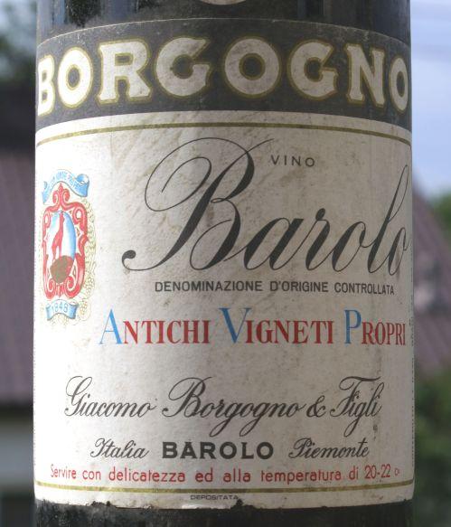 Giacomo Borgogno Barolo Riserva 1947 (2)