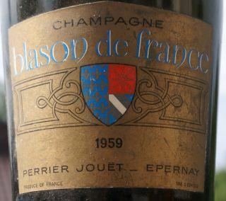 Perrier-Jouet Blason de France 1959