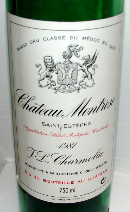 Ch Montrose 1981