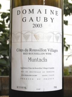 Gauby Muntada 2003