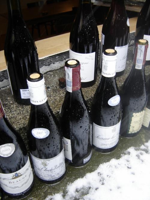 Energooszczędne chłodzenie burgundów.