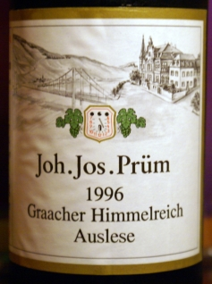 Joh. Jos. Prüm Graacher Himmelreich Riesling 2002
