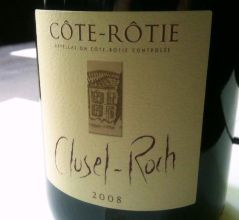 Clusel-Roch Cote-Rotie 2008