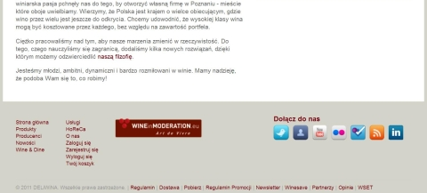 Deliwina.pl website