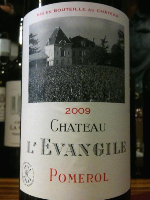 Chateau L'Evangile Pomerol 2009
