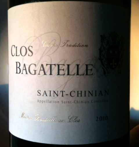 Clos Bagatelle Saint-Chinian 2010