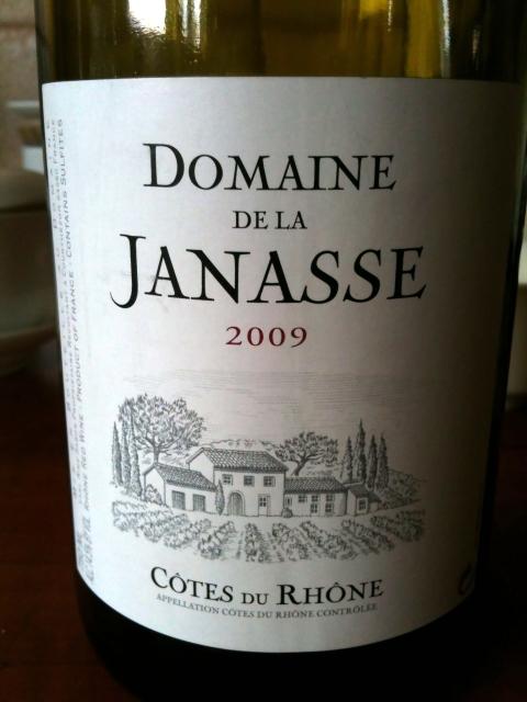 Domaine de la Janasse Cotes du Rhone 2009