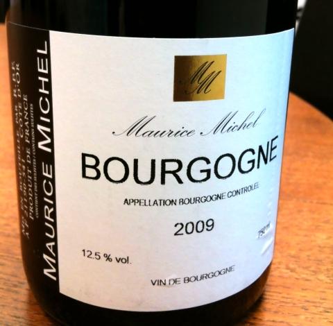 Maurice Michel Bourgogne Pinot Noir 2009