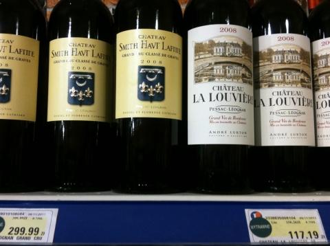 Leclerc Ekskluzywne Targi Winiarskie Bordeaux grands crus