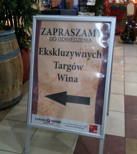 Leclerc Ekskluzywne Targi Winiarskie