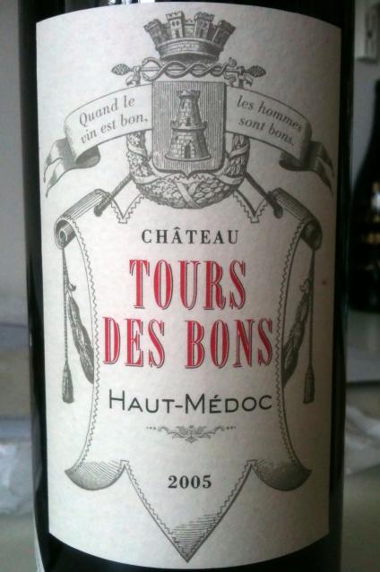 Chateau Tours des Bons Haut-Medoc 2005