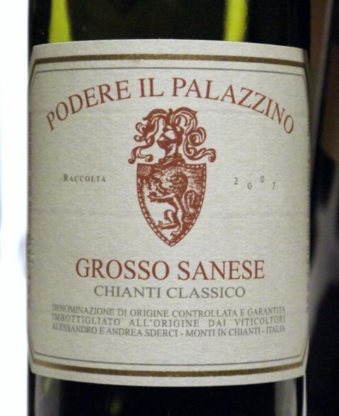 Podere Il Palazzino Chianti Classico Grosso Sanese 2007
