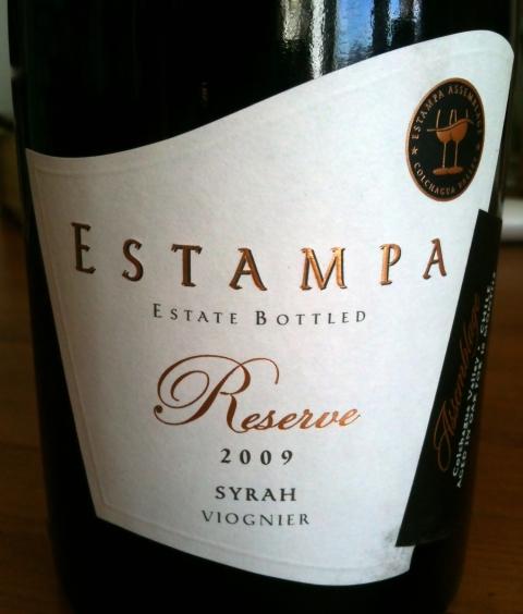Estampa Reserve Syrah-Viognier 2010