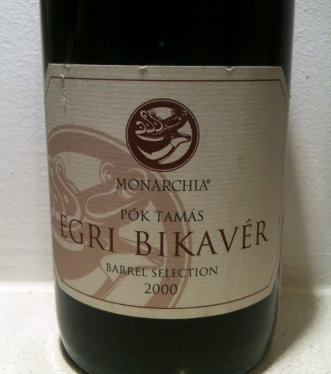 Monarchia Egri Bikavér Barrel Selection 2000
