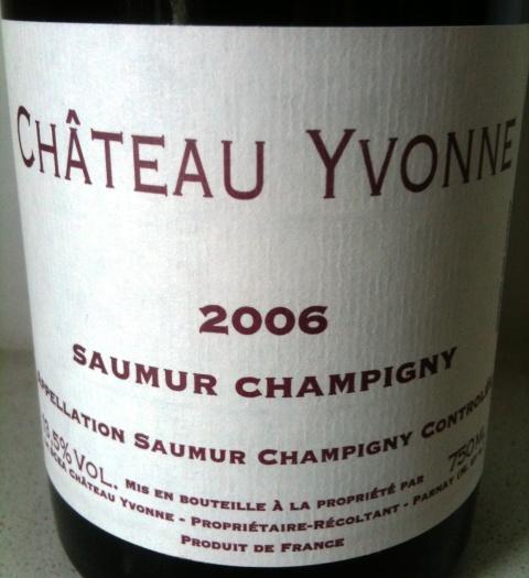 Château Yvonne Saumur-Champigny 2006